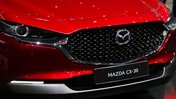 Mazda plans to launch an EV in 20, plug-in hybrid by 20  Autoblog Spy Shoot
