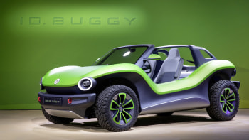 VW I D  Buggy Concept EV can convert to an AWD 2+2 | Autoblog