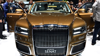 Putin's Russian carmaker wants to sell limos to Western
