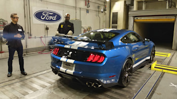 2020 Ford Mustang Shelby GT500 top speed limited to 180 mph