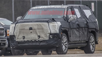 Next Gen Gm Full Size Suvs Spied Out Testing Looking Closer To
