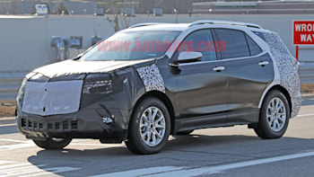 2020 Chevrolet Equinox Spy Photos Show Blazer Inspired