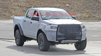 Ford Raptor Bronco >> Ford Ranger Raptor Test Mule Spied With Bronco Similarities Autoblog
