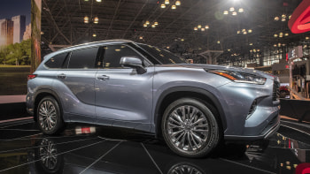 2020 Toyota Highlander Redesign & Release Date >> 2020 Toyota Highlander First Look New York Auto Show