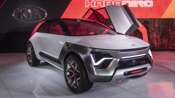 Awd Electric Car >> Kia Habaniro Is An Awd Electric Concept Car At The New York Auto