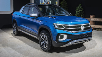 2020 Volkswagen Tarok Price, Redesign, Review, And Specs >> Vw Tarok Pickup Concept At N Y Auto Show Could Hint At Future
