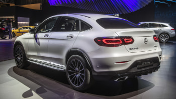 2020 Mercedes Benz Glc Class Coupe Gets Light Update Autoblog