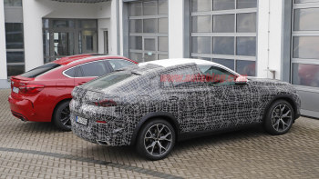 2020 Bmw X6 Spied With Interior Exposed At The Nurburgring Autoblog