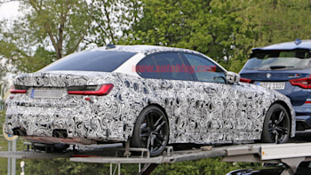 2020 Bmw M3 Spy Photos Show Us The Undercarriage And New Exterior