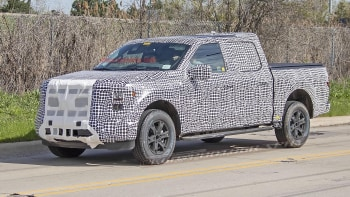 New Ford F150 >> Next Generation Ford F 150 Spied With New Body Autoblog