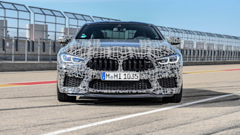 BMW M8 gets electrically adjustable brakes and a new M control