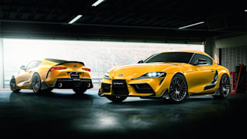 2020 Toyota Supra Tries On The First Batch Of Trd Upgrades Autoblog