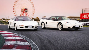 Honda Nsx R >> Two Pristine Honda Nsx Type Rs Set For Auction In Tokyo