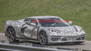2020 Chevy Corvette Spy Photos Show A Second Aero Configuration