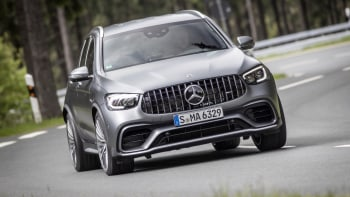 2020 Mercedes Amg Glc 63 Glc 63 S Coupe First Drive Review Autoblog