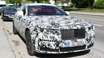 Rolls Royce Ghost Spied With Interior Uncovered Shows New