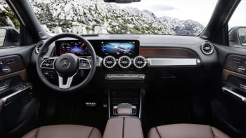 2020 Mercedes Benz Glb Class Revealed With Three Rows Of