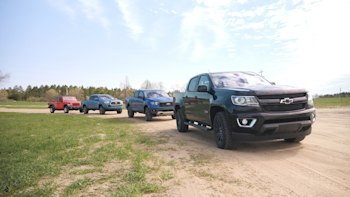 Comparison review: Toyota Tacoma, Ford Ranger, Jeep Gladiator, Chevy