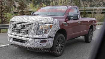 2020 Nissan Titan XD spied out testing in public | Autoblog