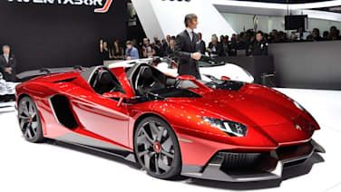 lamborghini aventador j geneva star conceived built in six weeks