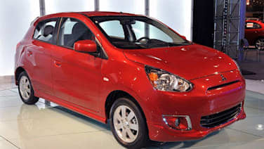 2014 mitsubishi mirage arrives in us this fall wvideo