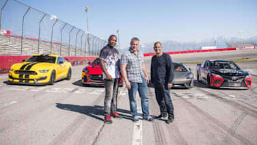 df86d2872f4 Top Gear Season 25 Episode 1 review: A trio with V8 muscle - Autoblog