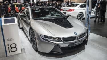 2019 Bmw I8 Coupe At Detroit Auto Show Autoblog