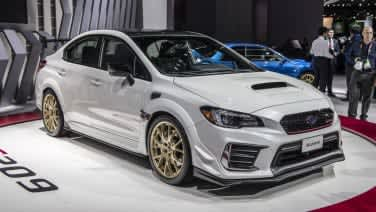 Wrx Sti 0 60 >> Subaru Wrx Sti S209 Detroit Reveal Wider More Horsepower Gold