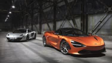 mclaren 720s reaches series production first car built autoblog