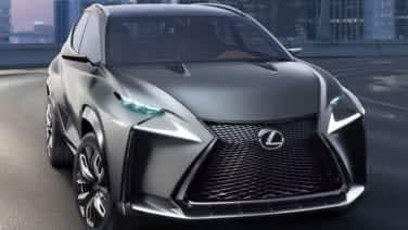 Lexus Lf Nx >> Lexus To Display Turbocharged Lf Nx Concept At Tokyo Motor Show