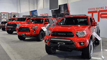 Toyota trd pro chase trucks are ready to hit the desert at sema toyota trd pro chase trucks are ready to hit the desert at sema autoblog aloadofball Images