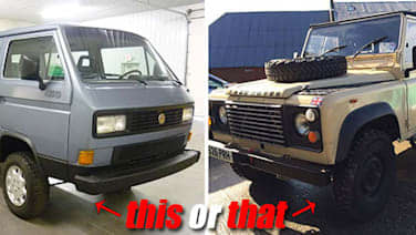 This Or That: 1987 VW Vanagon Syncro vs  1987 Land Rover