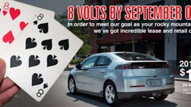 Chevy Volt Lease >> How Low Can You Go Colorado Chevy Dealer Offering Volt Leases For