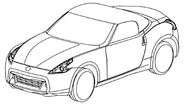 leaked nissan 370z roadster patent drawings autoblog 2020 Ford Bronco Concept