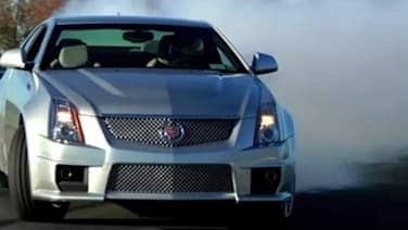 Video Cadillac Cts V Drifts Its Wheels Off At Monticello Autoblog