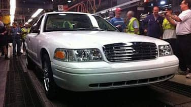 Last Ford Crown Victoria build documented by St  Thomas