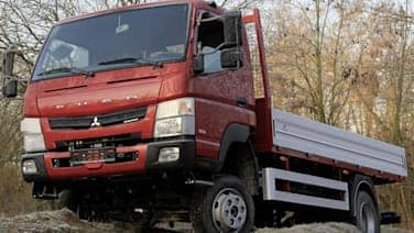 New Fuso Canter can canter in selectable 4x4 mode | Autoblog