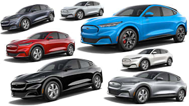 2021 ford mustang mach e paint and interior colors autoblog 2021 ford mustang mach e paint and