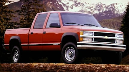 2000 Chevrolet C3500 - 4x2 Crew Cab 168.5 in. WB HD (Base)