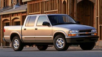 2004 Chevrolet S-10 - 4x4 Crew Cab 122.9 in. WB (LS)