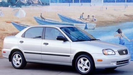 2002 Suzuki Esteem - 4dr Sedan (GL)