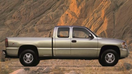 2004 GMC Sierra 2500 - 4x4 Extended Cab 6.6 ft. box 143.5 in. WB (Base)