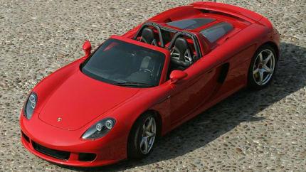 2005 Porsche Carrera GT - 2dr Rear-wheel Drive Coupe (Base)
