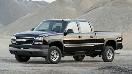 2006 Chevrolet Silverado 1500HD - 4x2 Crew Cab 6.6 ft. box 153 in. WB (LT1)