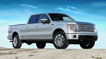 2009 Ford F-150 SuperCrew - 4x2 Styleside 5.5 ft. box 145 in. WB (XL)