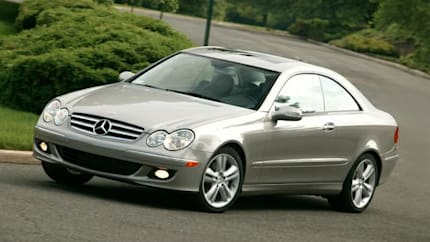 2009 Mercedes-Benz CLK-Class - CLK550 2dr Coupe (Base)