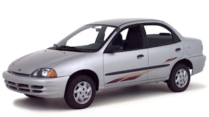 2000 Chevrolet Metro - 2dr Coupe (LSi)
