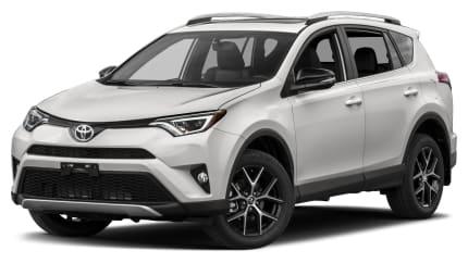 2018 Toyota RAV4 - 4dr Front-wheel Drive (SE)