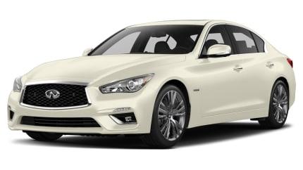 2018 INFINITI Q50 Hybrid - 4dr Rear-wheel Drive Sedan (LUXE)
