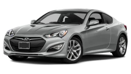 2016 Hyundai Genesis Coupe - 2dr Rear-wheel Drive (3.8 Base w/Black Seats)